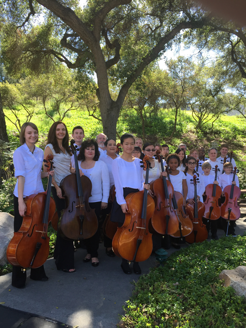 OC Cello Choir in 2015