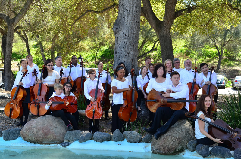 OC Cello Choir 2015